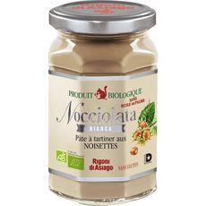 NOCCIOLATA Pâte à tartiner bio chocolat blanc et noisettes sans huile de palme 270g