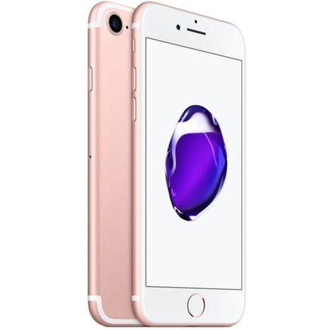 APPLE APPLE - Iphone 7 - Reconditionné - Grade A+ - 128 Go - Rose - RIF