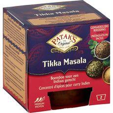 Patak's concentré épices tikka masala 2x70g