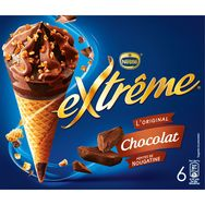 Extrême cône chocolat x6 -426g