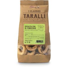 PUGLIA SAPORI Taralli crackers au fenouil 250g