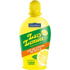 Lazy Lemon Jus de citron jaune 125ml