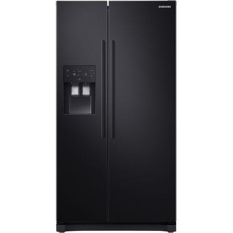 SAMSUNG Réfrigérateur américain RS50N3503BC, 501 L, Froid ventilé intégral