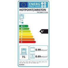 HOTPOINT Four Encastrable FA2 844 C IX HA, 71 L, Multifonction, Chaleur pulsée, Nettoyage catalyse