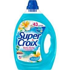 Super Croix lessive diluée bora bora 43 lavages 2,15l