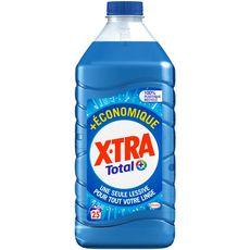 X-tra lessive diluée total éco 25 lavages 1,25l