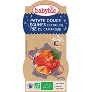 Babybio patate douce légumes du soleil 2x200g dès 8 mois