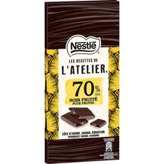 Nestlé recette atelier noir fruité 70% -100g