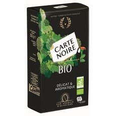Carte Noire Café moulu pur arabica bio délicat et aromatique 250g