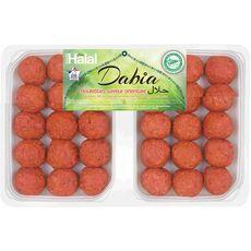 DABIA Boulettes saveur orientale halal 2x15 pièces  750g
