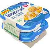 Blédina Blédina Blédichef assiette butternut pâtes cabillaud dès 18 mois 2x250g
