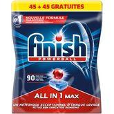 Finish tout en 1 dose x45 +45offertes 1,468kg