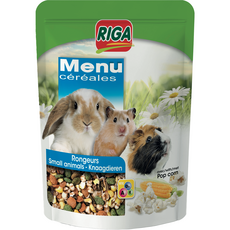 RIGA Riga menu céréales pop-corn pour rongeurs 500g