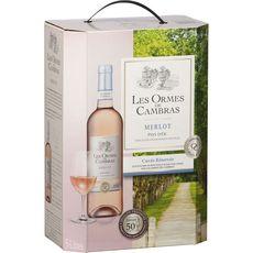 LES ORMES DE CAMBRAS IGP Pays-d'Oc Merlot cuvée réservée rosé 5L