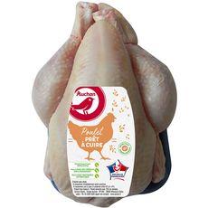 Auchan poulet entier blanc 1,3kg