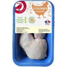Auchan cuisse de poulet blanc x2 500g