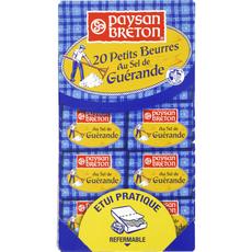 PAYSAN BRETON PAYSAN BRETON Petit beurre au sel de Guérande 20x10g 20x10g