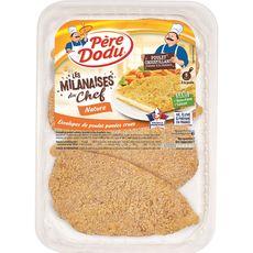 escalope de poulet milanaise x4 -460g