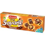 Brossard ptit savane chocolat x5 -150g