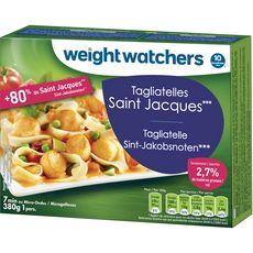WEIGHT WATCHERS Tagliatelles aux Saint-Jacques et fruits de mers 1 portion 380g