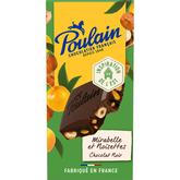Poulain région chocolat noir mirabelle 180g