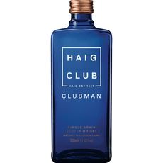 Haig club Scotch whisky single grain clubman 40% 70cl
