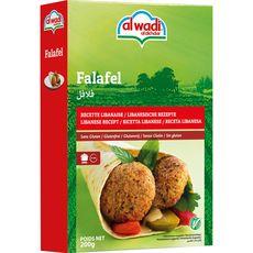 AL WADI Préparation pour falafel, recette libanaise sans gluten 200g