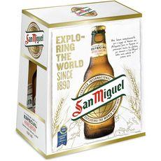 SAN MIGUEL Bière blonde 5,4% bouteilles 6X25cl