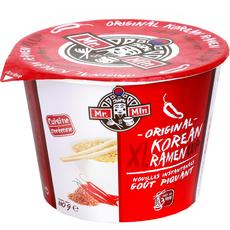 MR MIN Nouilles coréennes instantanées goût piquant 110g