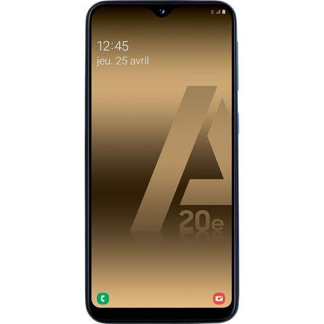 SAMSUNG Smartphone - GALAXY A20e - 32 Go - 5.8 pouces - Bleu - 4G - Double port Nano SIM