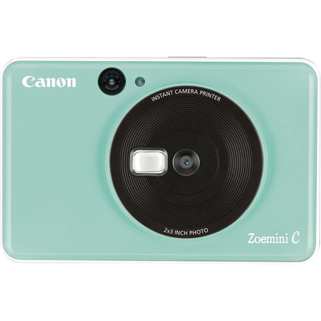 CANON Appareil photo instantané - Vert menthe - Zoemini C