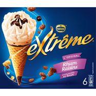 Nestlé Extrême rhum raisins x6 426g