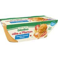Blédina idées maman tomate semoule cabillaud 2x200g dès 8m