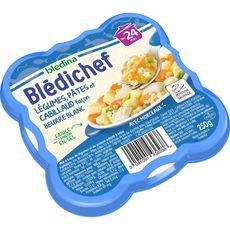 Blédina BLEDINA Blédichef assiette légumes pâtes et cabillaud dès 24 mois