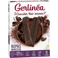 GERLINEA Gerlinéa Repas minceur chocolat noir intense 372g 12x31g 372g