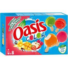 Oasis so color sorbet bâtonnet x8 -300g