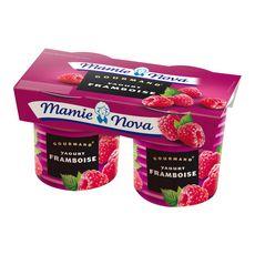 Mamie Nova gourmand framboise 2x150g