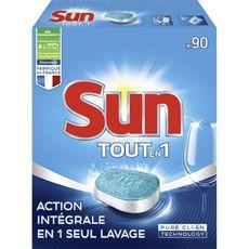 Sun tablettes lave-vaisselle tout en 1 standard x90 -1,575kg