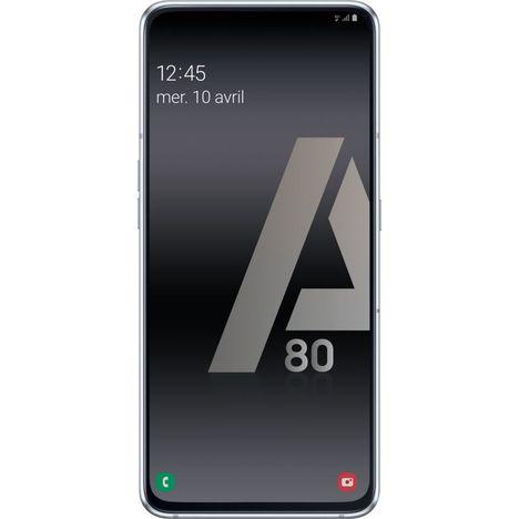 SAMSUNG Smartphone - GALAXY A80 - 128 Go - 6.7 pouces - Argent - 4G - Double port SIM