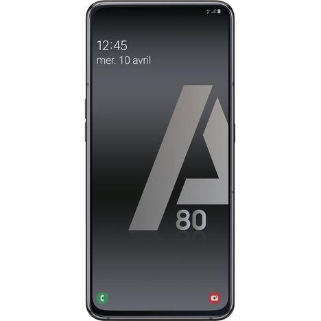 SAMSUNG Smartphone - GALAXY A80 - 128 Go - 6.7 pouces - Noir - 4G - Double port SIM