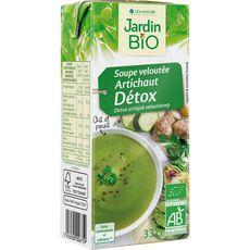 JARDIN BIO ETIC Soupe à l'artichaut detox fabriqué en France sans colorant 1 personne 33cl