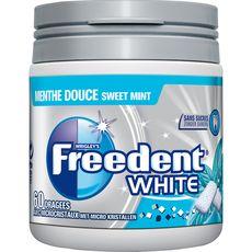 Freedent white menthe douce dragée box 84g