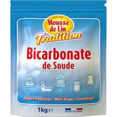 MOUSSE DE LIN Bicarbonate de soude multi-usages 1kg