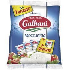 Galbani mozzarella x3 +1offerte 500g