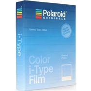 POLAROID Papier photo Color i-Type Film - Summer Blues Edition