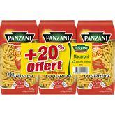 Panzani macaroni 3x500g +20% gt