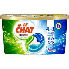 Le Chat Discs lessive capsules 4en1 expert 25 lavages