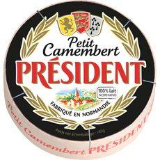 PRESIDENT PRESIDENT Petit camembert 145g 145g