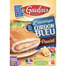 LE GAULOIS L'escalope cordon bleu au poulet 2 pièces 200g