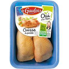 LE GAULOIS Cuisses de poulet jaune 1kg